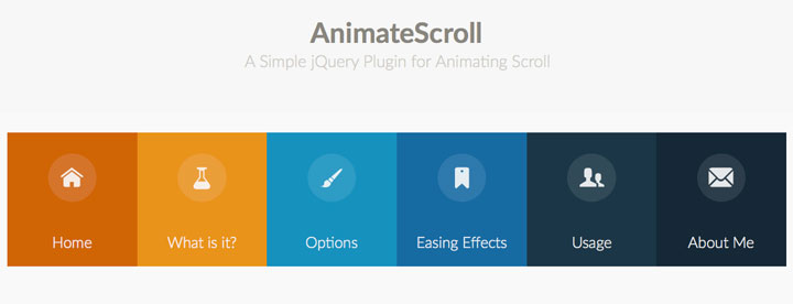 30+ jQuery Plugins For Scrolling Effects With CSS Animation