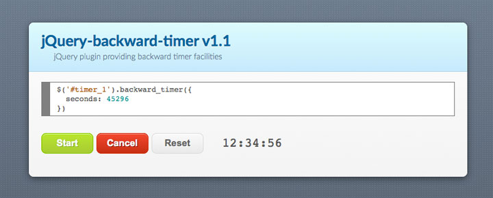 backward-timer-jquery-plugin