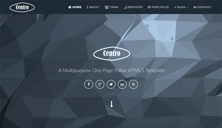 centro-onepage-html-template