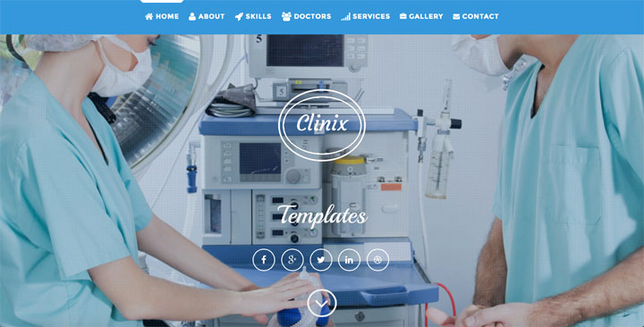 clinix-onepage-html-template
