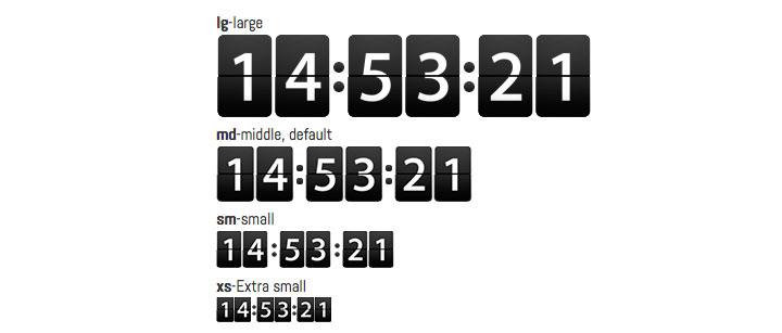 flip-countdown-jquery-plugin