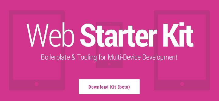 google-web-starter-kit