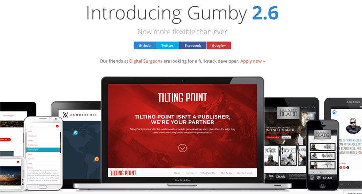 gumby-framework