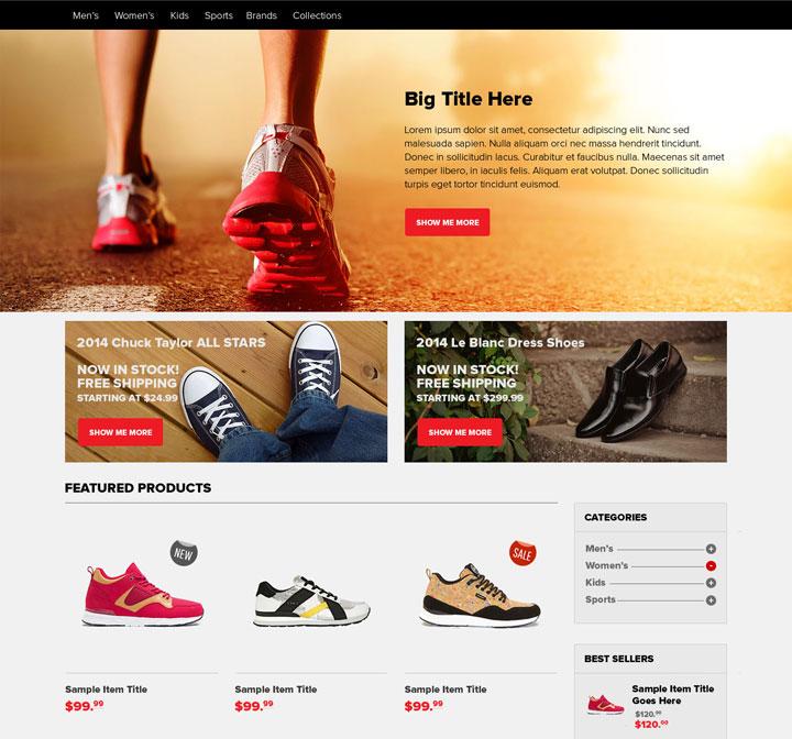 homepage-ecommerce
