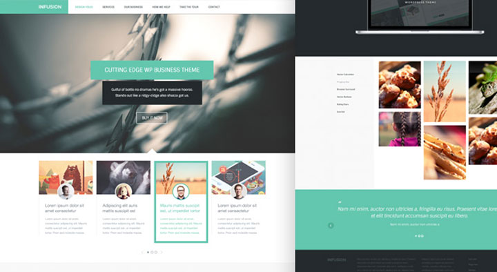Free Responsive HTML CSS Onepage Templates Ninodezigncom - Simple website templates free download html with css