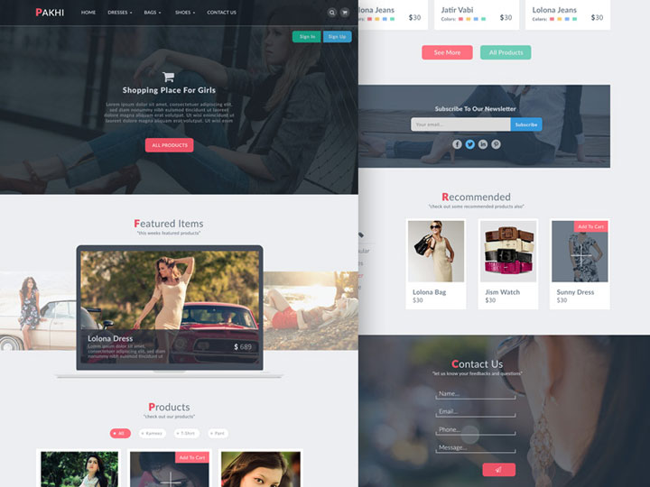 pakhi-e-commerce-template
