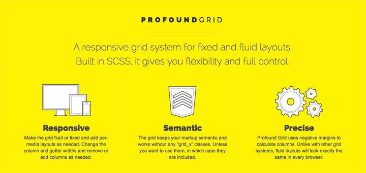 profound-grid-framework
