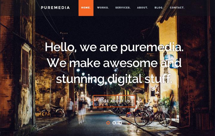 puremedia-onepage-html-template