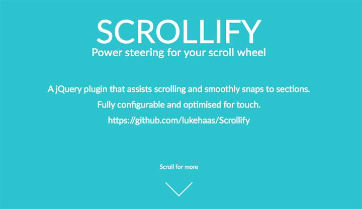 scrollify-jquery-plugin