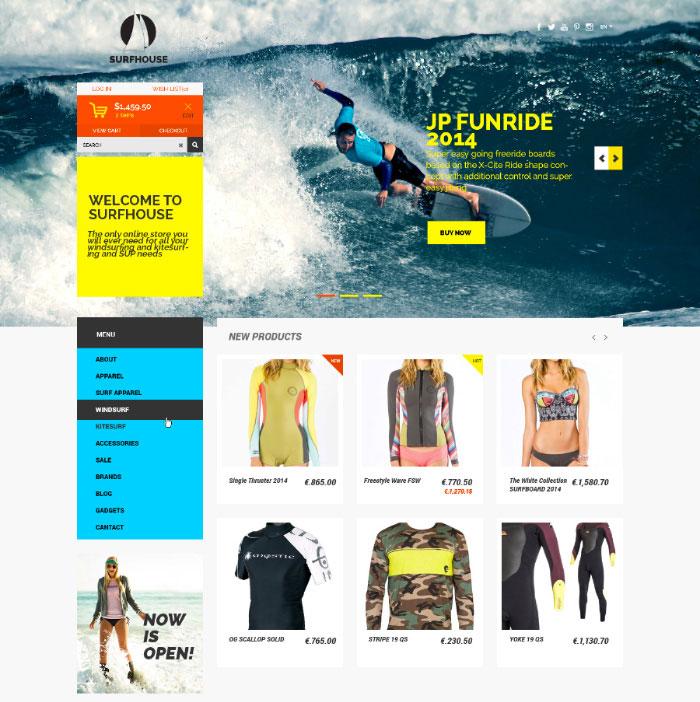 surfhouse-ecommerce