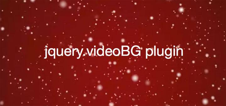 videobg-jquery-plugin