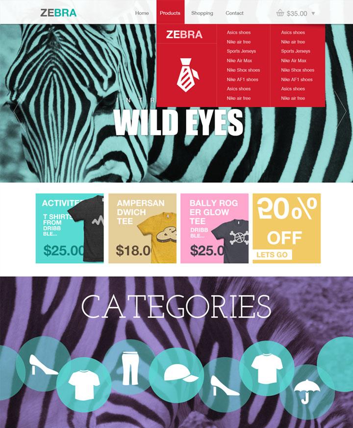 zebra-ecommerce-template