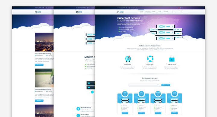 Astro-free-psd-template