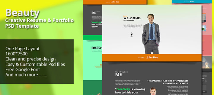Beauty-Creative-Resume-Portfolio-free-PSD-Template