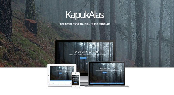 KapukAlas-free-psd-template