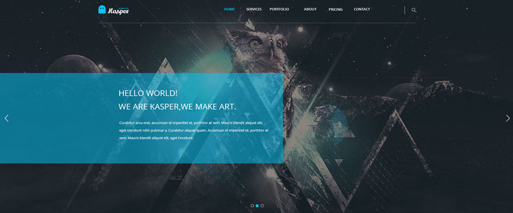 Kasper-free-psd-template