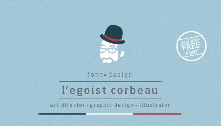 Legoist-Corbeau-free-font