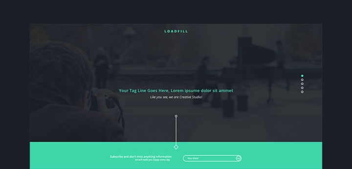 LoadFill-free-psd-template