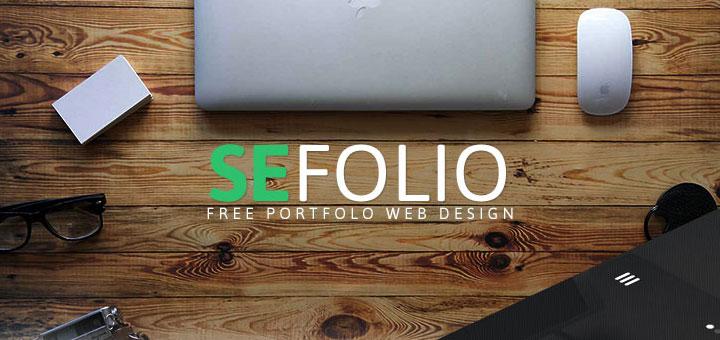 SEFolio-free-psd-template