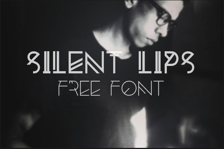 Silent-Lips-free-font
