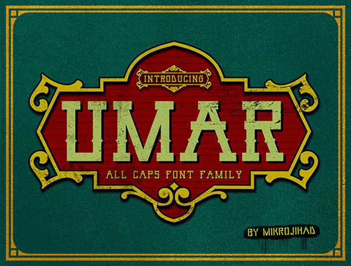 Umar-free-font