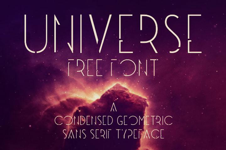Universe-free-font
