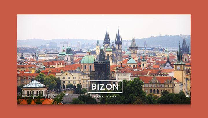 bizon-free-font
