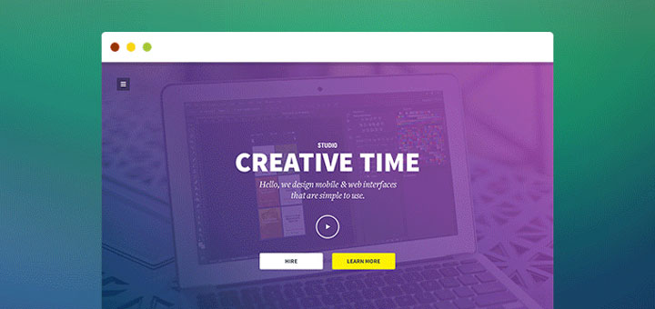 creative-time-free-psd-template