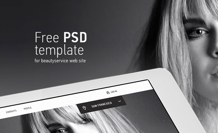 glamour-free-psd-template