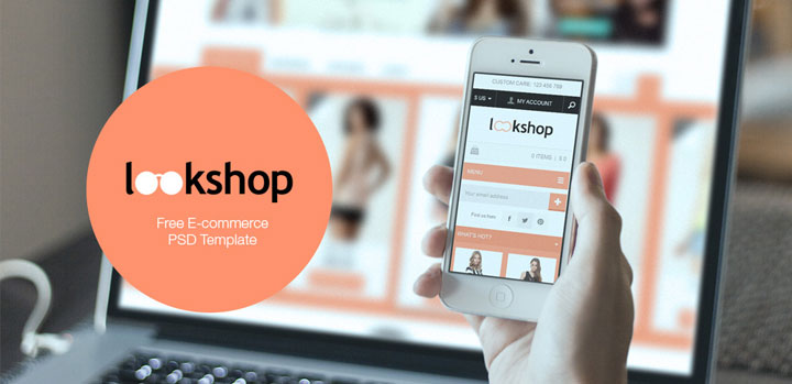 lookshop-free-psd-template