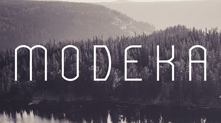 modeka-free-font