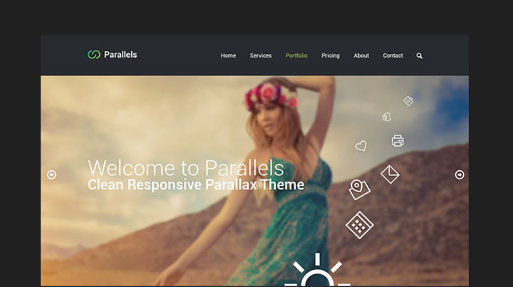 parallels-free-psd-template