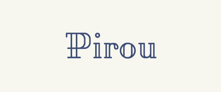 pirou-free-font