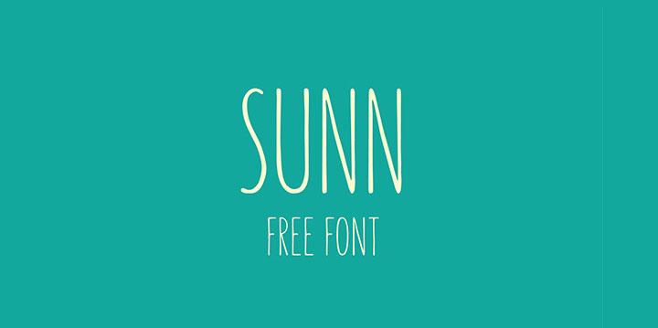 sunn-free-font