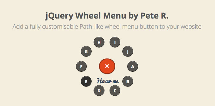wheel-menu-jquery-plugin