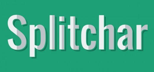 Splitchar-jquery-plugin
