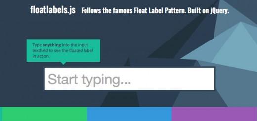 floatlabels-jquery-plugin