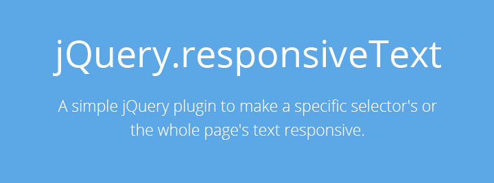 responsive-text-jquery-plugin
