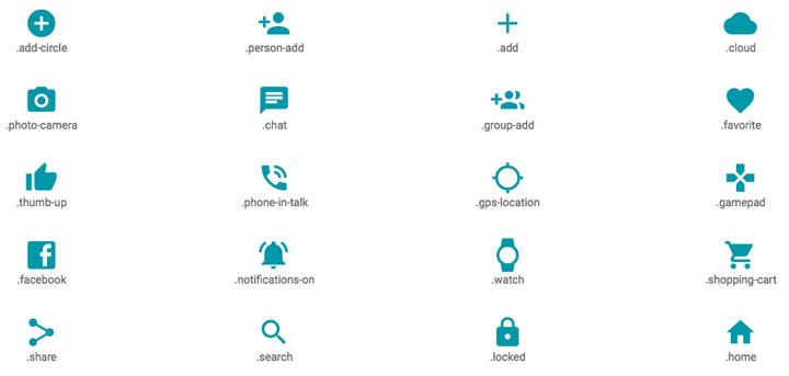 Mirchu-Material-Design-Icons