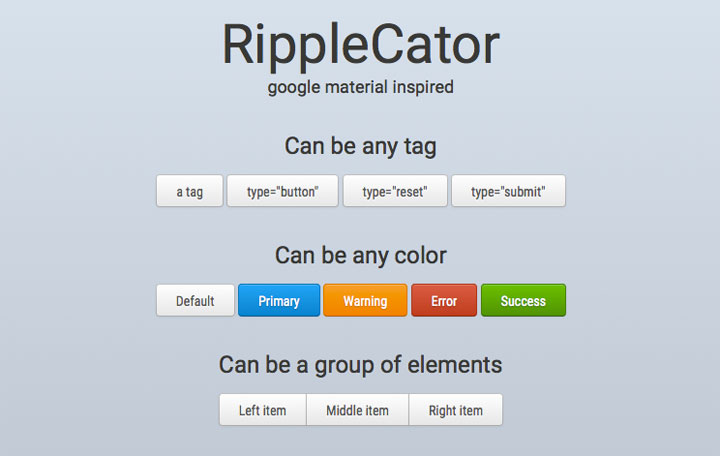 RippleCator-material-design