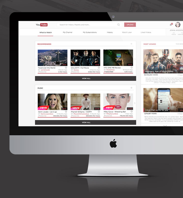 youtube-redesign-Mohammed-Awad