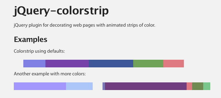 jquery-color-strip