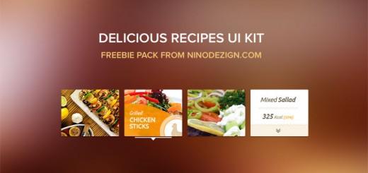Delicious Recipes – Food UI Kit