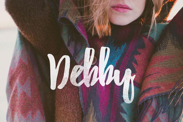 debby-free-font