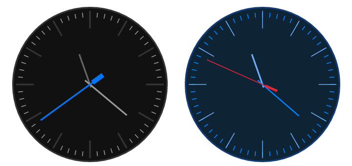 Angular-Clock-Widget