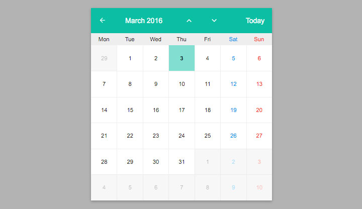 Angular-datepicker