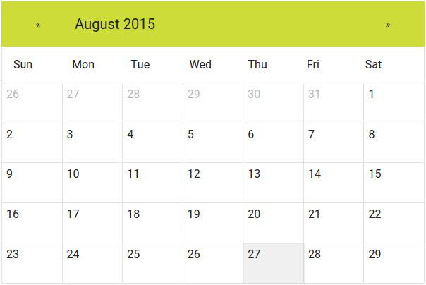 AngularJS-Material-Calendar