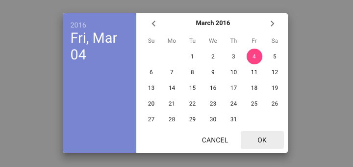 Material-Design-date-time-pickers
