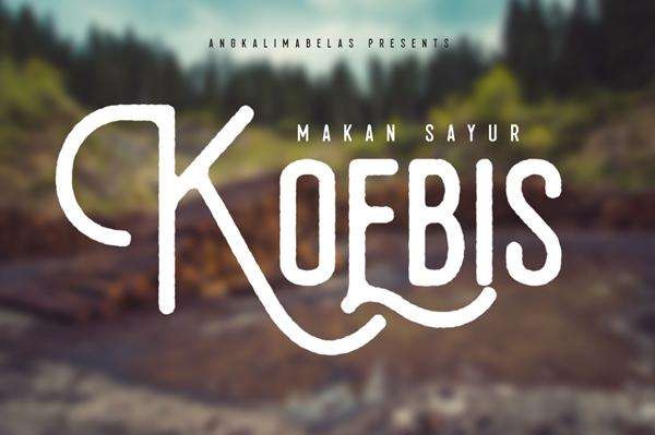 Koebis_free_font