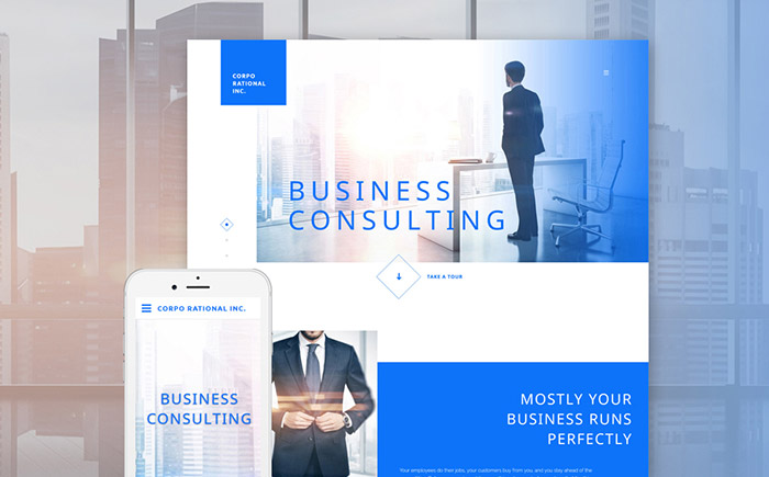 Business Bureau Site Template